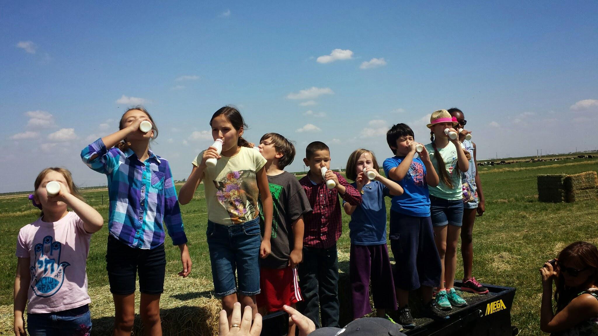 Milk chugging 2015 CWTC