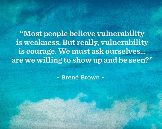 blue brene brown
