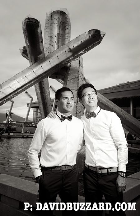 Vancouver Gay Wedding photo by David Buzzard