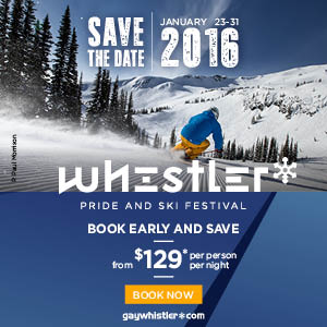 Save the Date Whistler Pride and Ski Festival