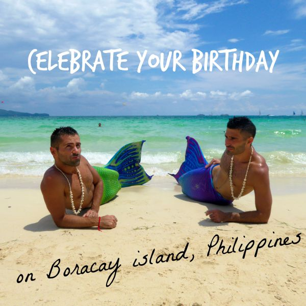 5 ways celebrate your birthday in Boracay in the Philippines