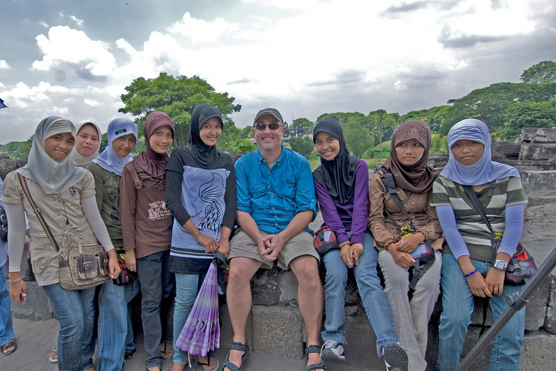 Me and the Ladies at Prambanan