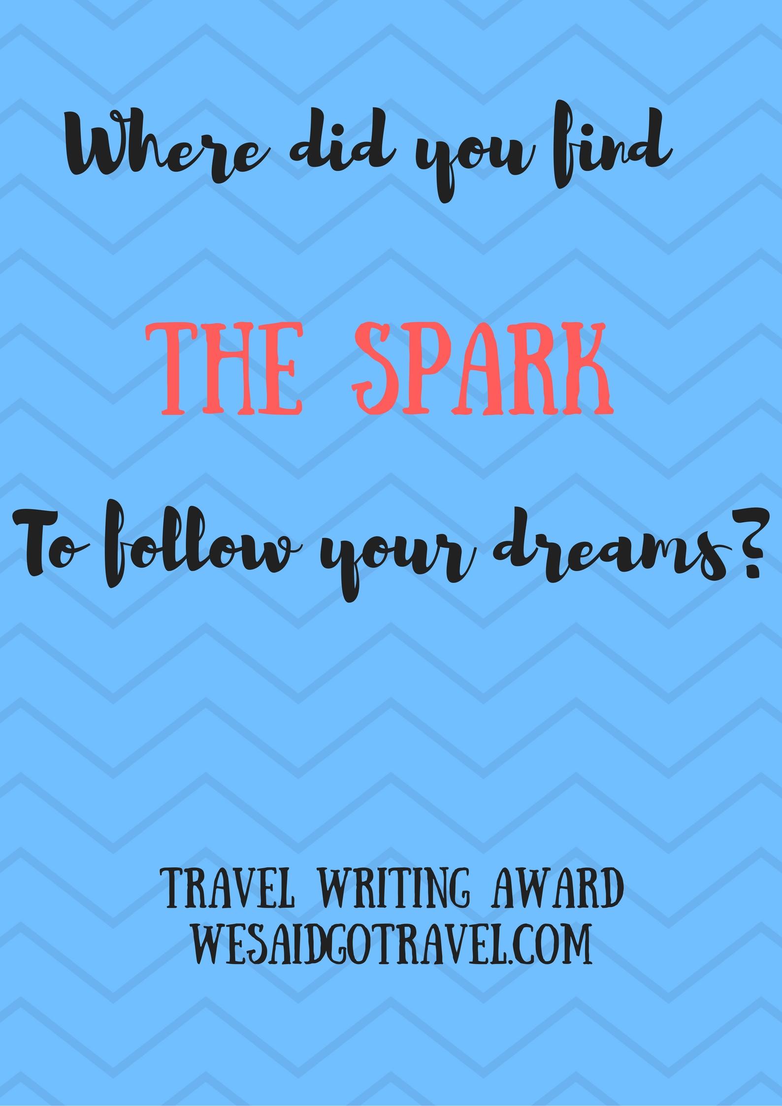 travel writing awards 2012