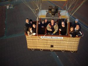 napa Valley Hot air balloon 2