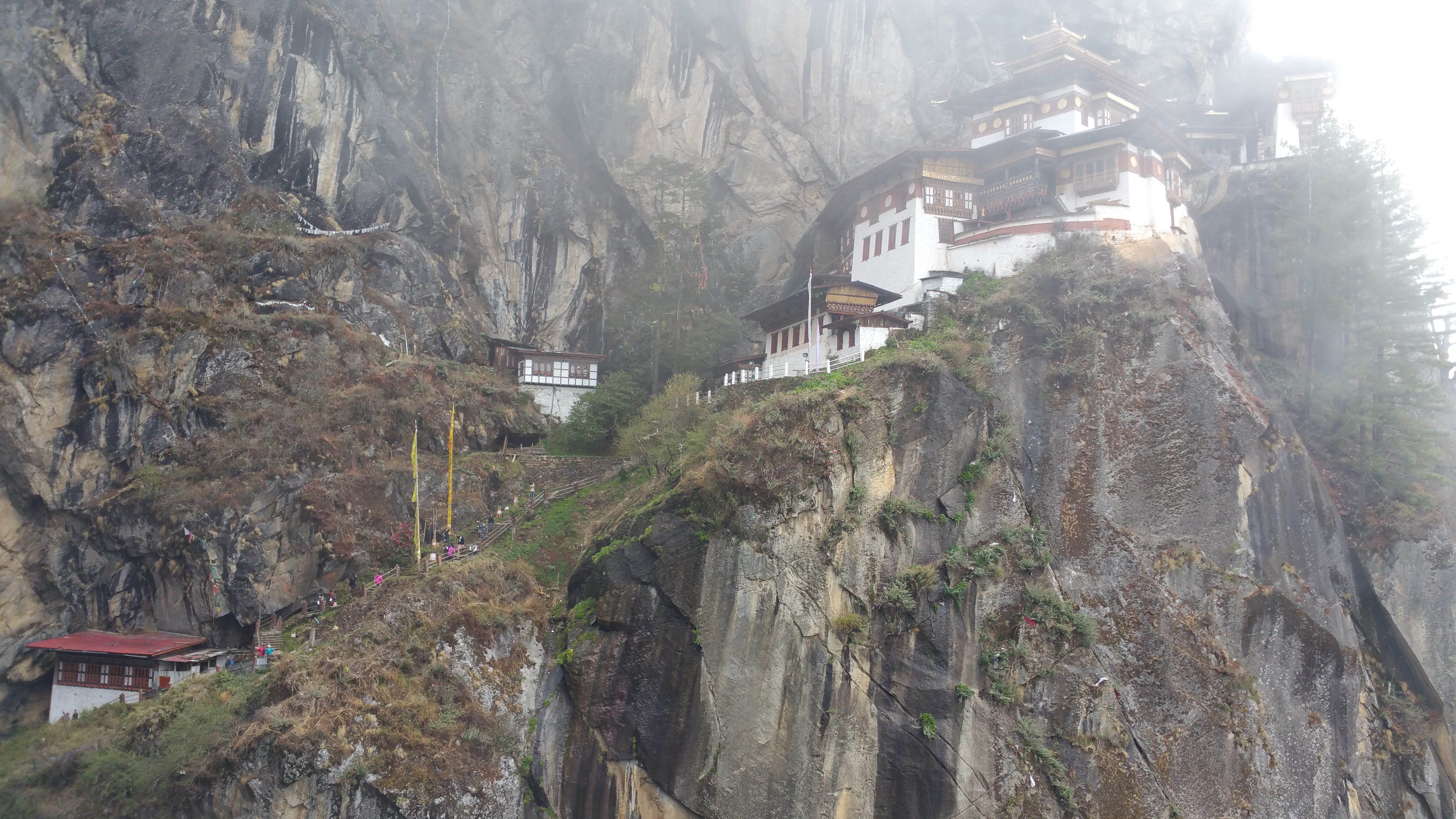 The Tiger's Nest in Paro, Bhutan