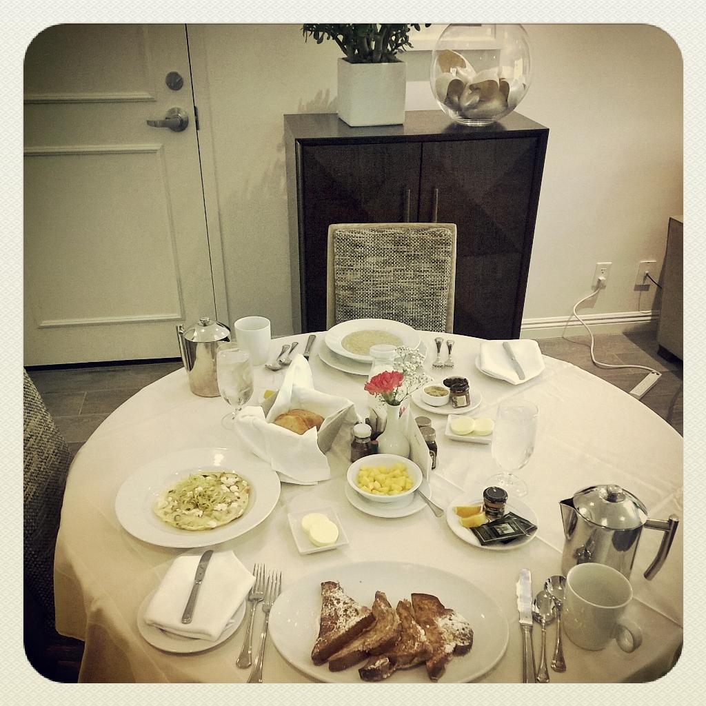 Fairmont Miramar Breakfast