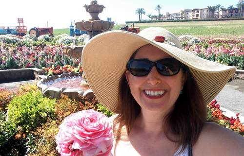 Lisa Niver Carlsbad Flower Field