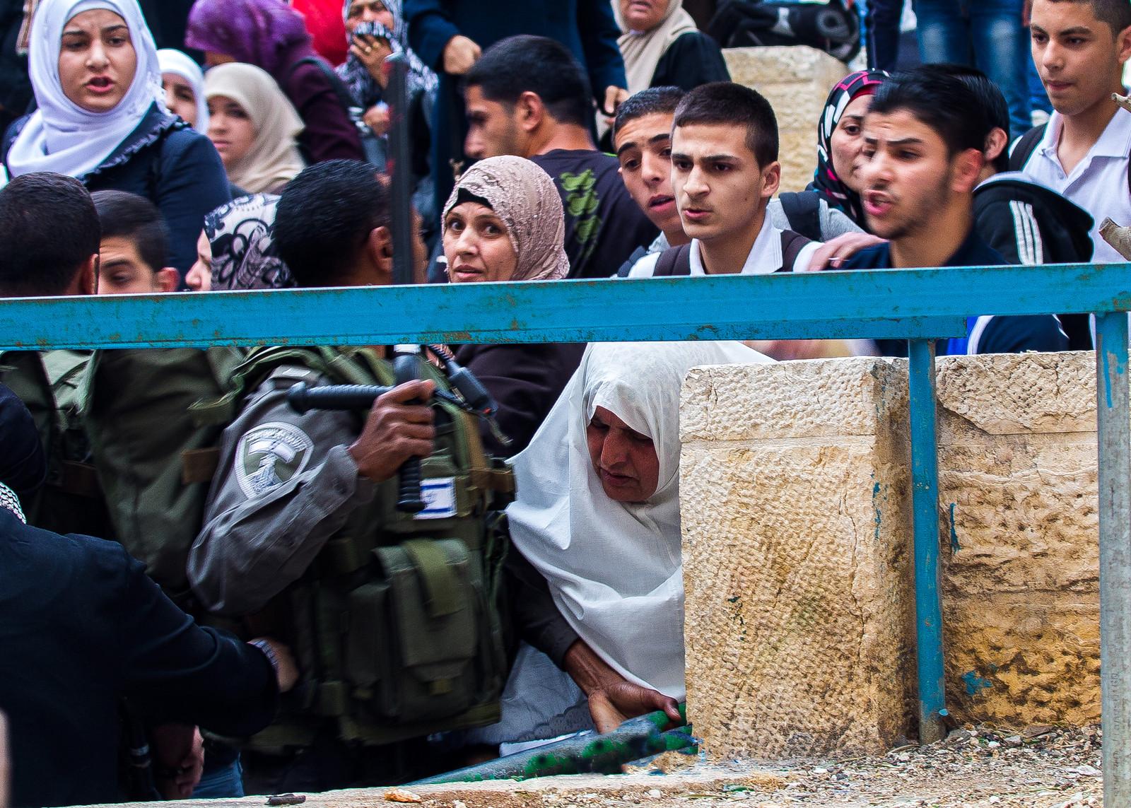 Arab-Israeli Clash