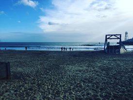 Bournemouth Beach, the UK