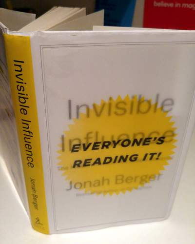 jonah berger invisible influence