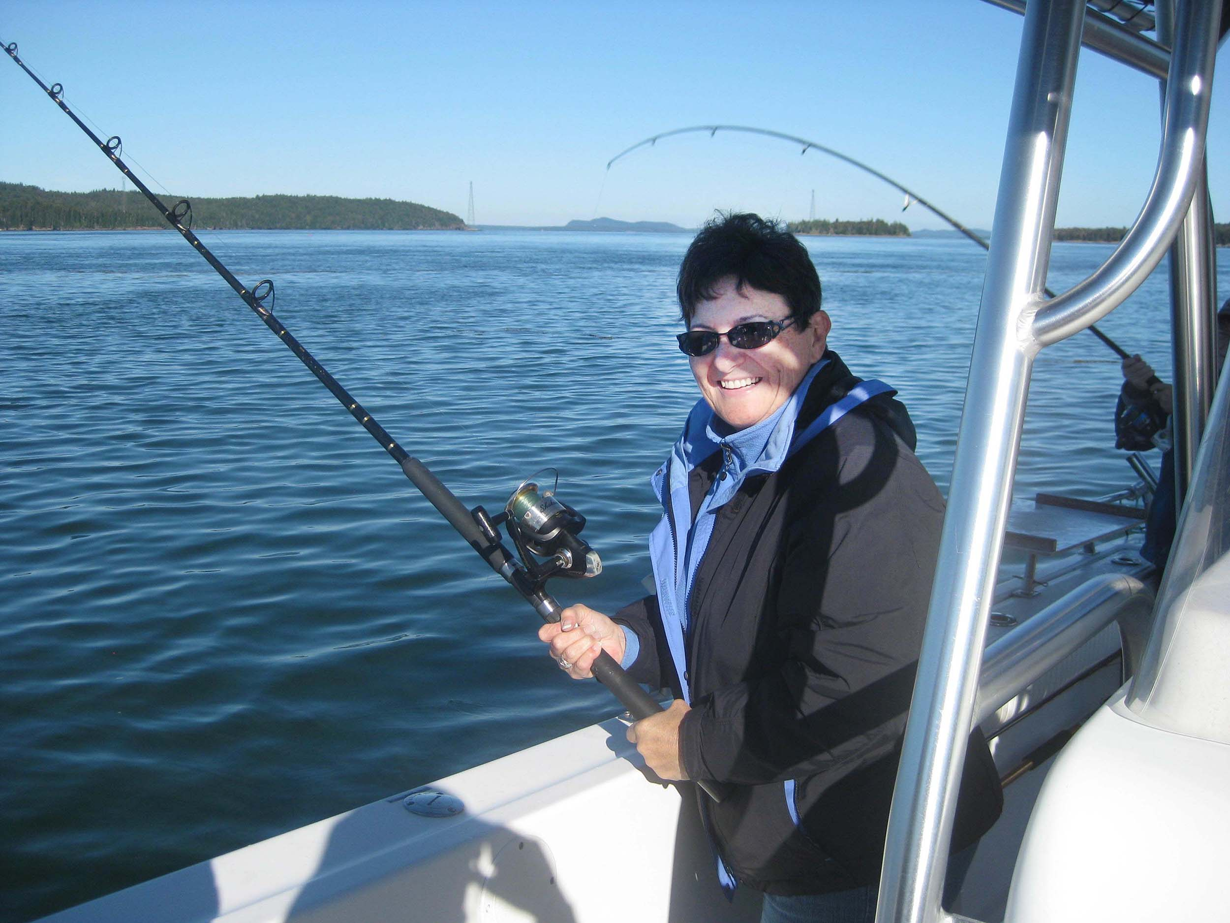 Fishing the Bay of Fundy