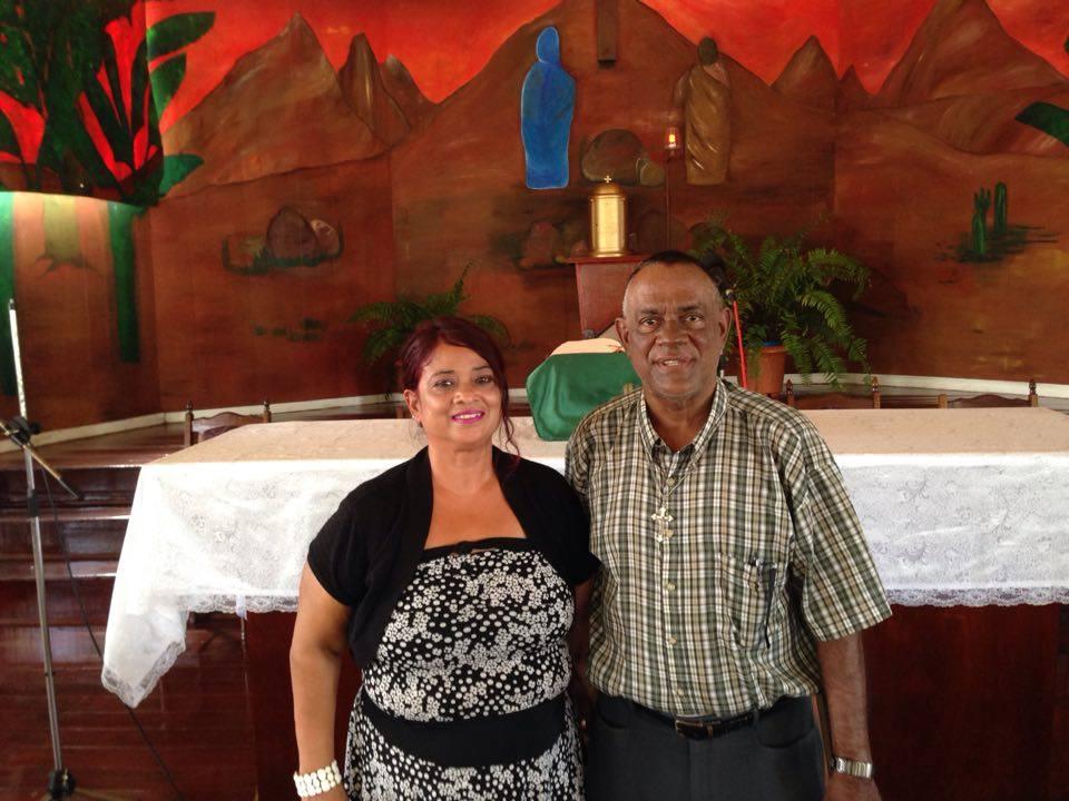 Family in Guyana