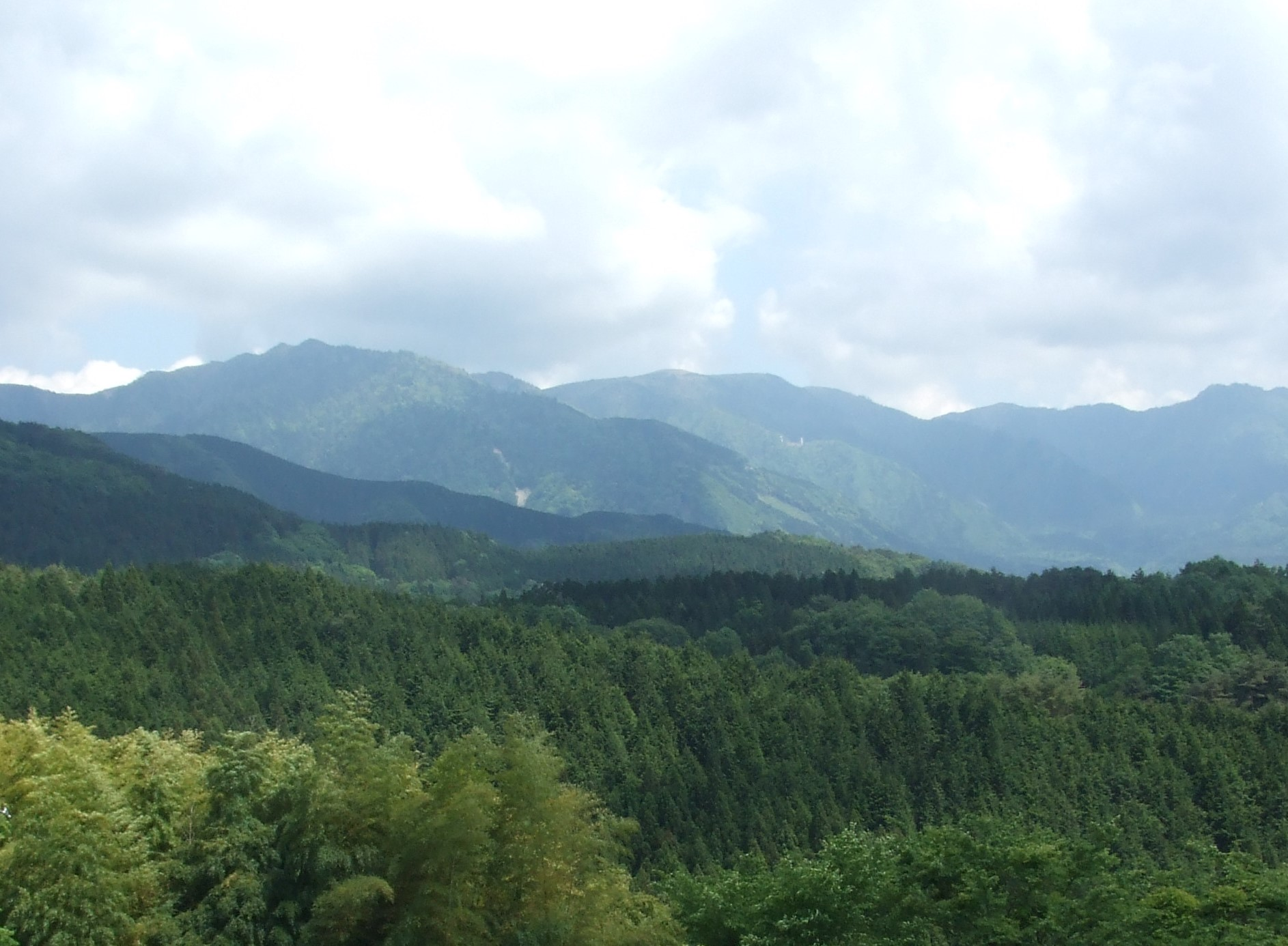 The Japanese Mountains