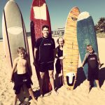 Surfing in South Africa