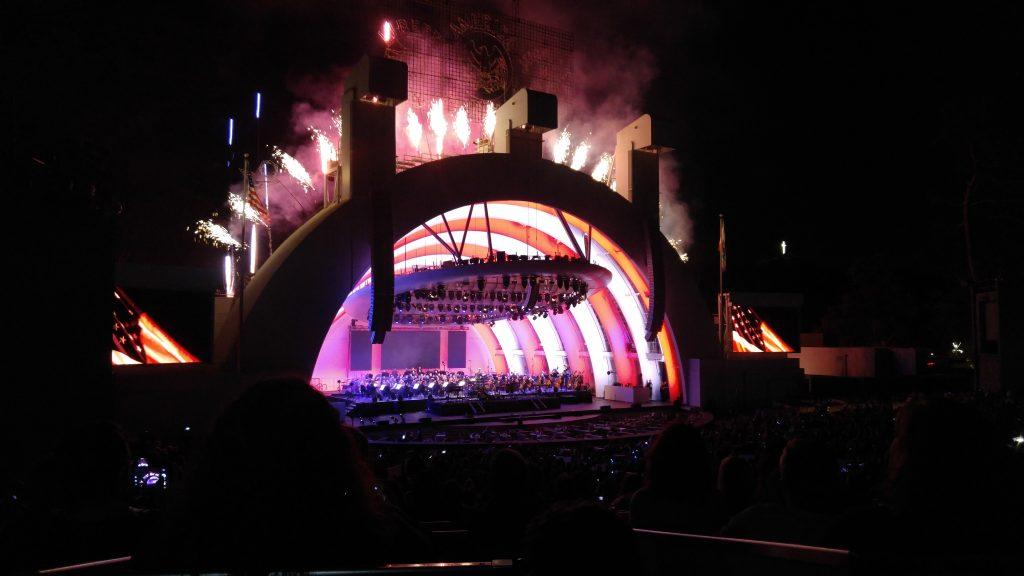 Fireworks at H Bowl