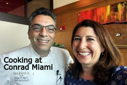 Chef Brandel Lisa Niver at Conrad Miami