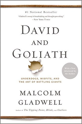 Malcolm Gladwell book David and Goliath
