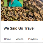 We Said Go Travel on YouTube with 465000 views July 30 2016