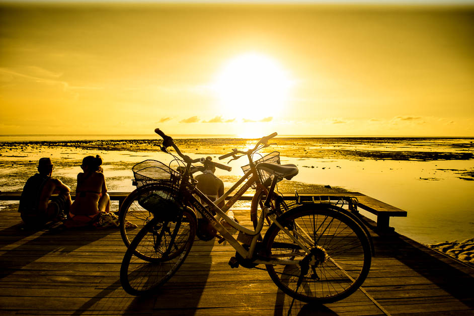 Sunset on Gili Trawangan. Tiffany Soukup