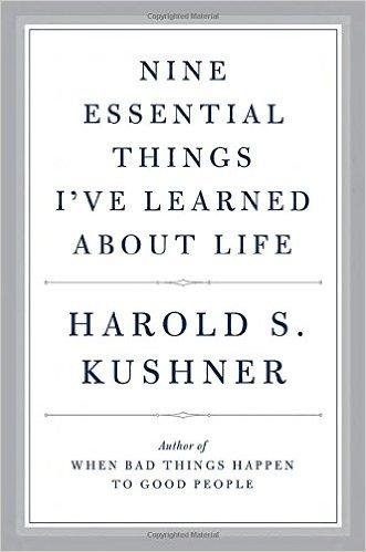nine essential things harold kushner