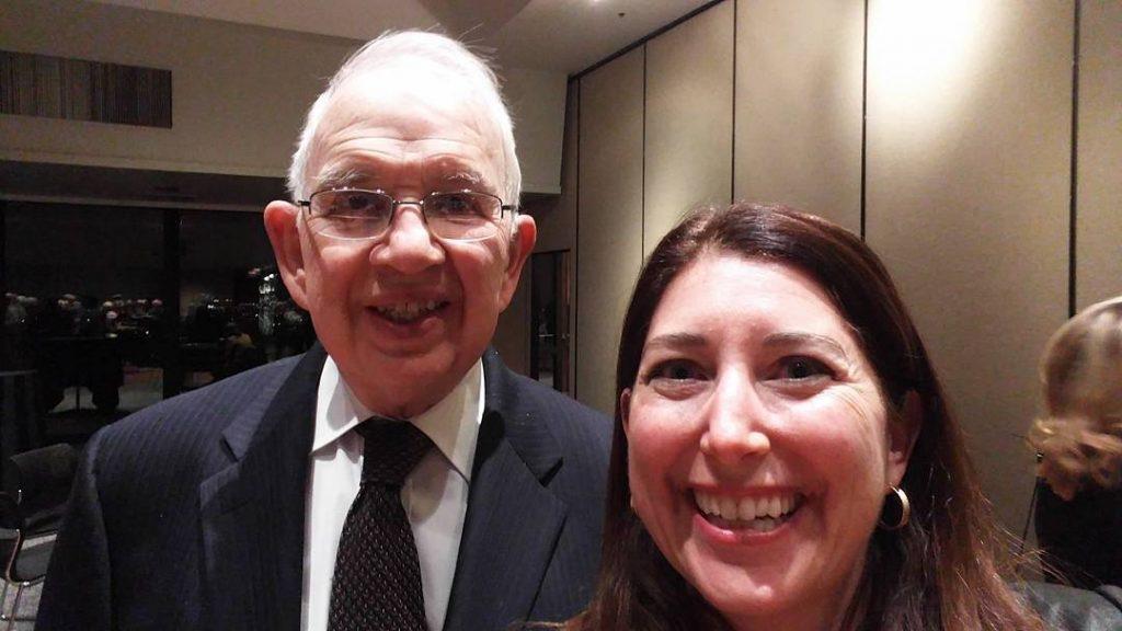 Lisa Niver Harold Kushner Stephen Wise Temple Feb 2016