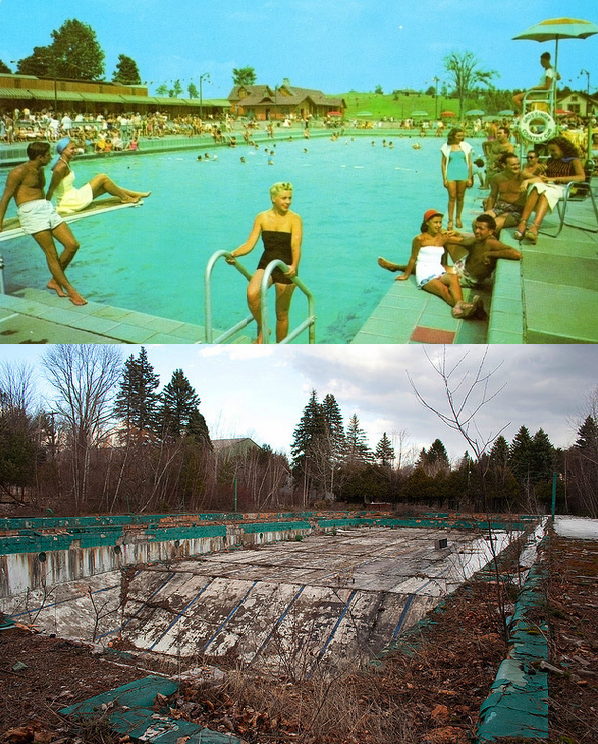 the catskills -then and now