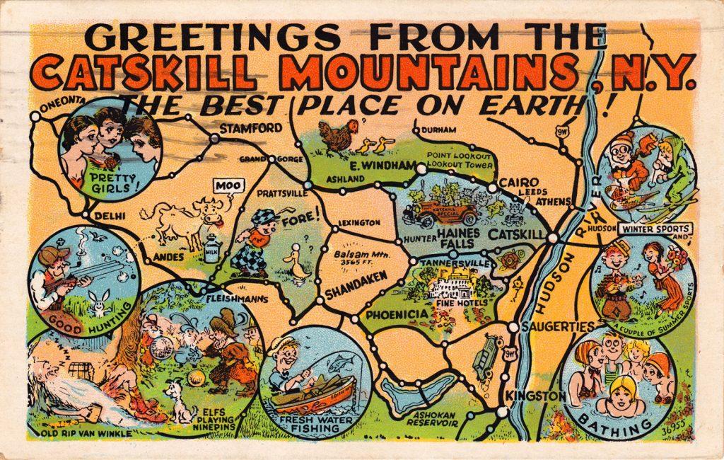 Catskills-Greetings from the Catskills
