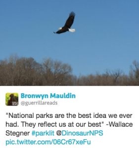 """National parks are the best idea we ever had."""