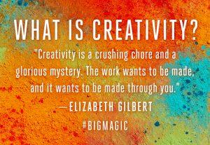 Big Magic Be Creative #travelwriting