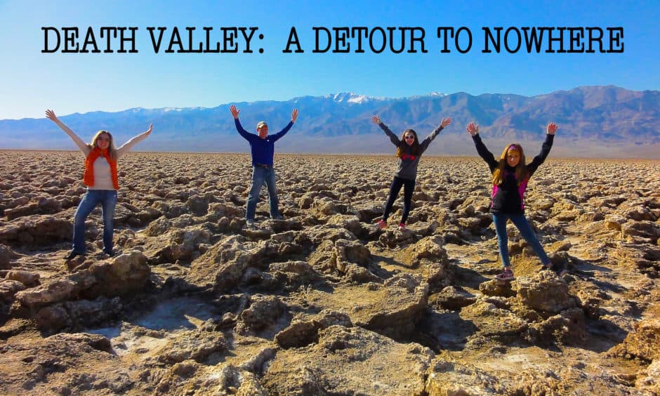 Death Valley is a national park full of adventure for your family.