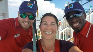 I did it! I dared me to do the sky course on Carnival Breeze. I DID IT