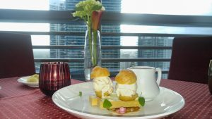 Dessert at Atrio, Conrad Miami on the 25th Floor If You Change Your Altitude, Will it Improve Your Attitude?