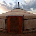 Lisa Niver slept in a ger: Mongolia: Land of Dunes & Moonrises