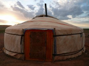Lisa Niver slept in a ger: Mongolia: Land of Dunes & Moonrises