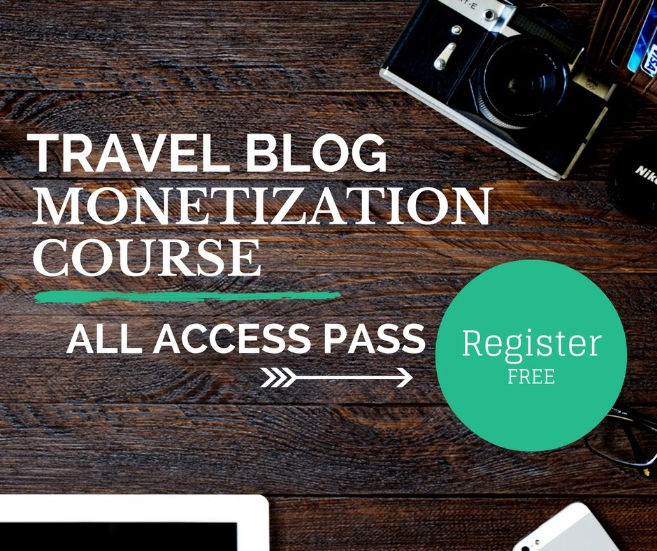 Travel Blog Monetization Course