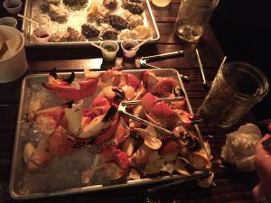 Stone Crab Photo by Sara Guarnieri