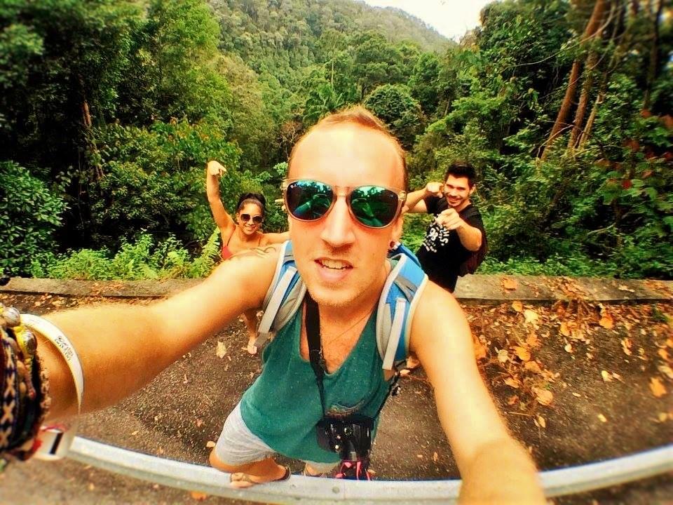 Rain forest selfie