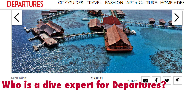 Who is a Dive Expert for Departures?
