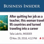 Who did Business Insider interview? Lisa Niver