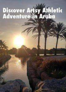 Discover an artsy athletic adventure in Aruba