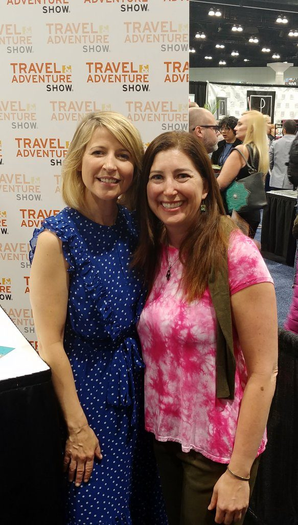 Lisa Niver and Samantha Brown March 2018