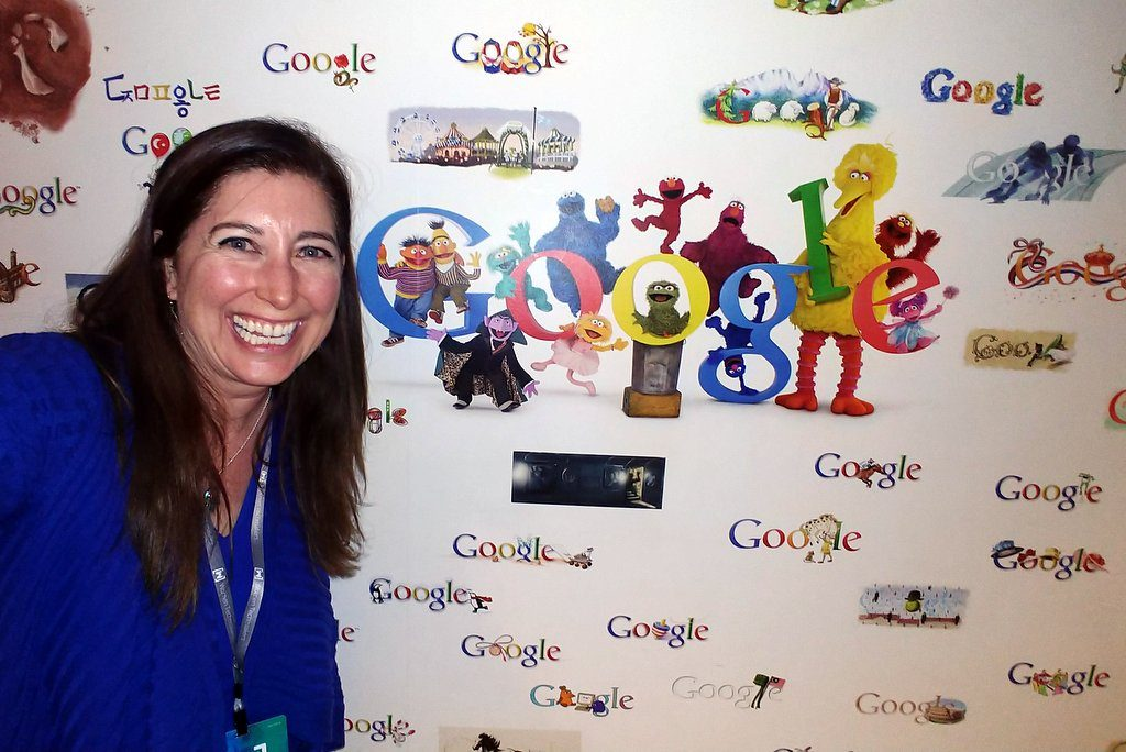 Lisa at Google for International Women's Day