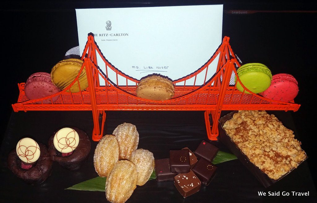 My treats at The Ritz-Carlton San Francisco