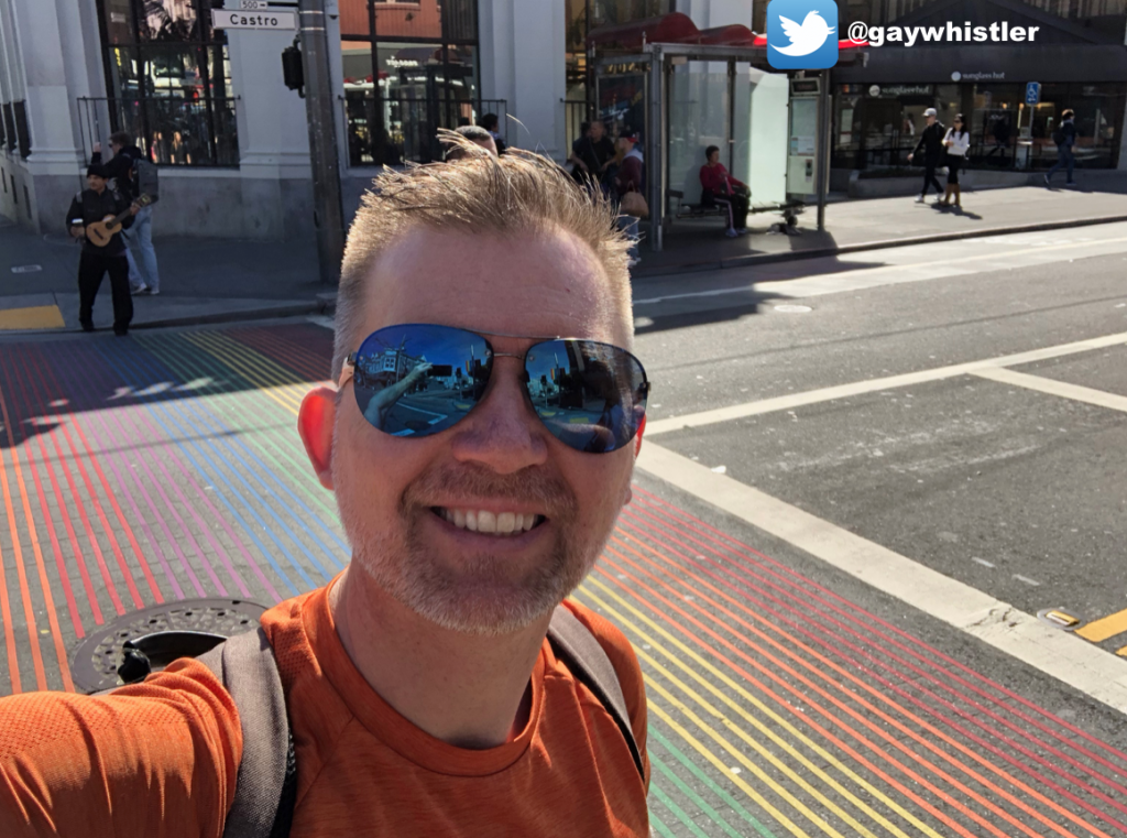12 gay hours in San Francisco - Castro Rainbow crosswalk