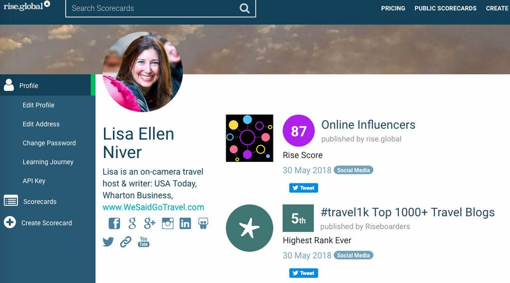 #Travel1k We Said Go Travel #5 Top Travel Blog May 30 2018