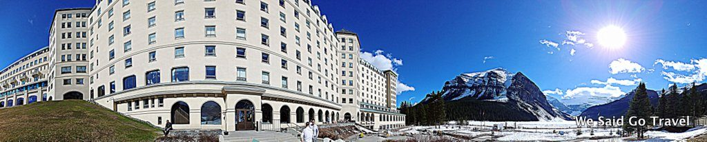 Lisa Niver staying at Fairmont Chateau Lake Louise