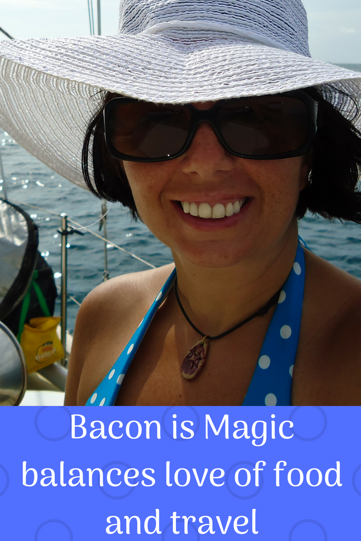 Bacon is Magic Balances Love of Food and Travel
