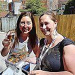 Lisa and Melissa Montreal Jewish Food tour