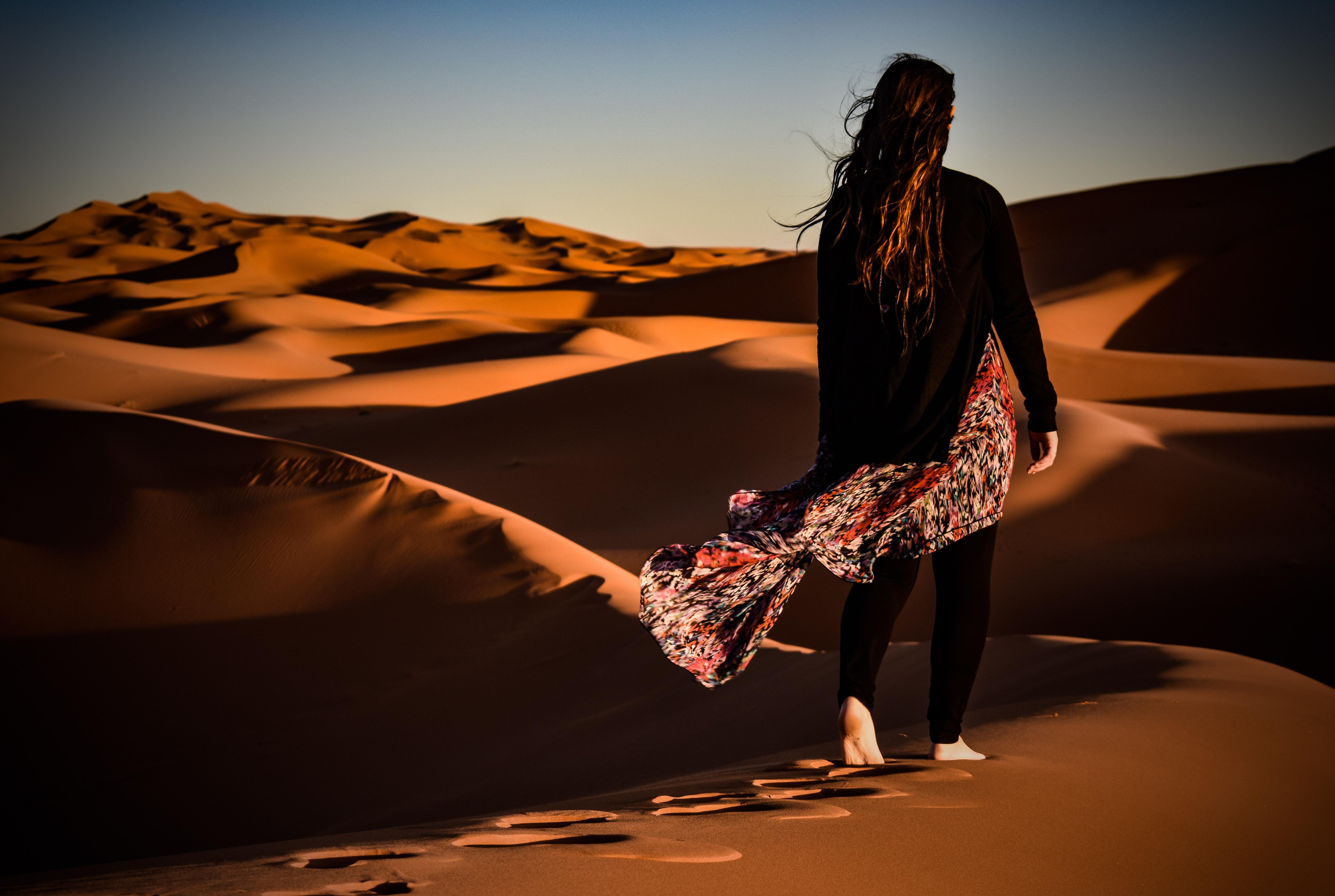 Footprints in Morocco