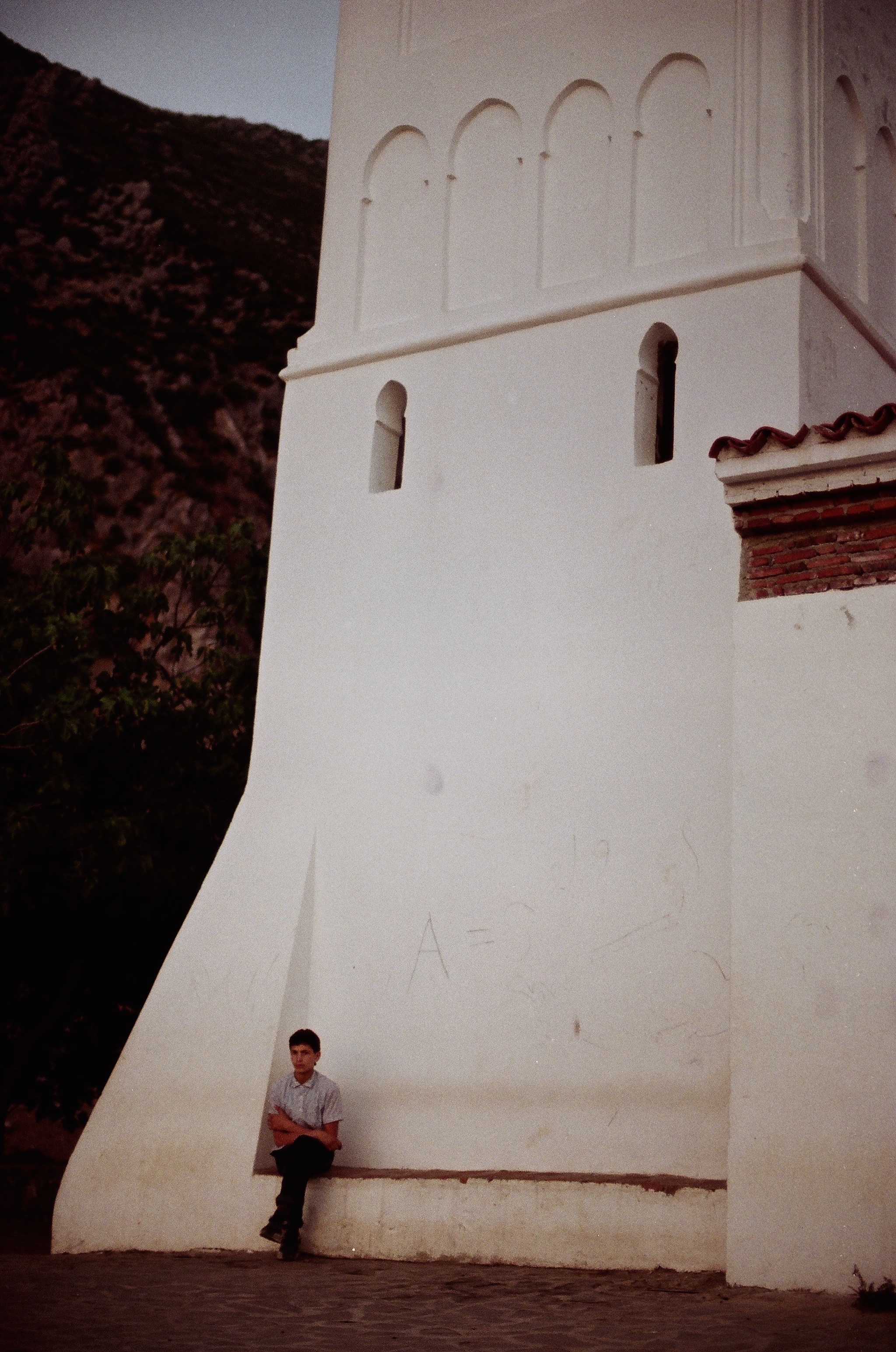 Tranquility on a Mosque, taken in Chefchaouen, Morocco